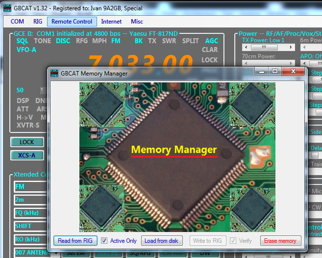 GBCAT.Yaesu.Features.FT.817ND.Memory.Manager